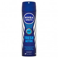 Nivea Men Fresh Active Sprej dezodorant, 150 ml