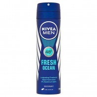 Nivea Men Fresh Ocean Sprej dezodorant, 150 ml