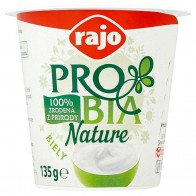 Rajo Probia Nature Biely, 135 g