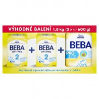 BEBA OPTIPRO® 2, 3 x, 600 g