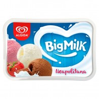 Algida Big Milk Trio Neapolitana, 1000 ml