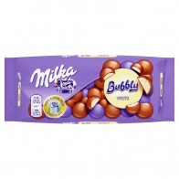 Milka Bubbly White, 95 g