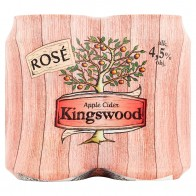 Kingswood Apple cider rosé 4 x, 330 ml