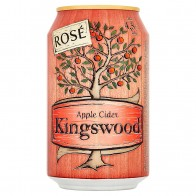 Kingswood Apple cider rosé, 0.33 L