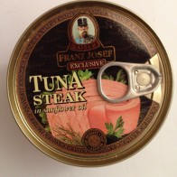 Kaiser Franz Jozef Exclusive TUNA Steak in sunflower oil - tuniak steak v slnečnicovom oleji, 170 g