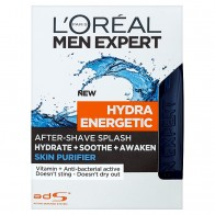 L'Oréal Paris Men Expert Hydra Energetic Skin Purifier voda po holení, 100 ml