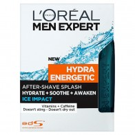 L'Oréal Paris Men Expert Hydra Energetic Ice Impact voda po holení, 100 ml