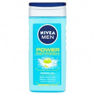 Nivea Men Power Refresh Sprchový gél, 250 ml