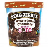 Ben & Jerry's What-a-lotta chocolate cookie core zmrzlina, 500 ml