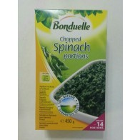 Bonduelle Choped Spinach portions , 450 g