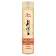 Wella Wellaflex Hydro Style Extra Strong Hold lak na vlasy, 250 ml