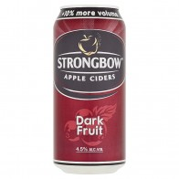 Strongbow Apple Ciders Dark Fruit ochutený cider, 440 ml