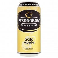 Strongbow Apple Ciders Gold Apple cider, 440 ml