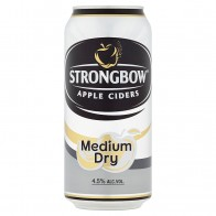 Strongbow Apple Ciders Medium Dry cider, 440 ml