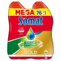 Somat Gold Gel Grease Cutting 2 x, 684 ml