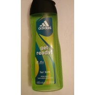 Adidas get ready 2in1 for him HAIR & BODY, 400 ml