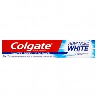 Colgate Advanced White zubná pasta, 75 ml