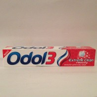 Odol3 Extreme Clean + whitening, 75 ml