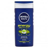 Nivea Men Energy Sprchový gél, 250 ml