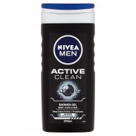 Nivea Men Active Clean Sprchový gél, 250 ml