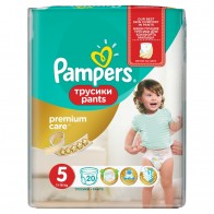Pampers Premium Care Pants Vel.5, 20 Plienok, 20 kus