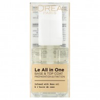 L'Oréal Paris Le All in One Base & Top Coat kompletná starostlivosť o nechty 13,5 ml, 13.5 ml