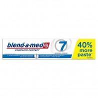 Blend-a-med Complete Protect 7 Crystal White Zubná Pasta 140ml, 140 ml
